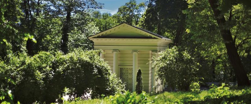 Ogrody łazienki Królewskie