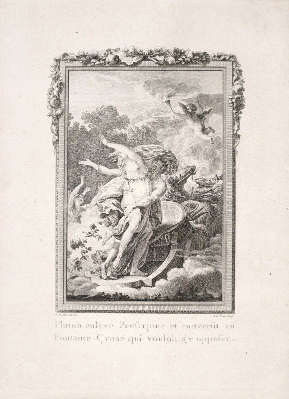 Hades' Abduction of Persephone