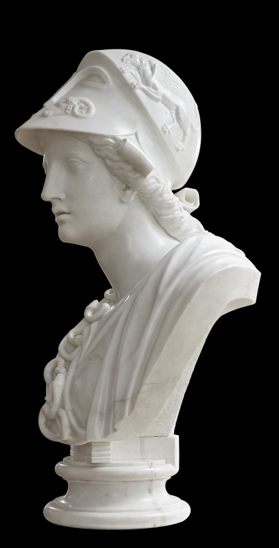 Bust of Pallas Athena