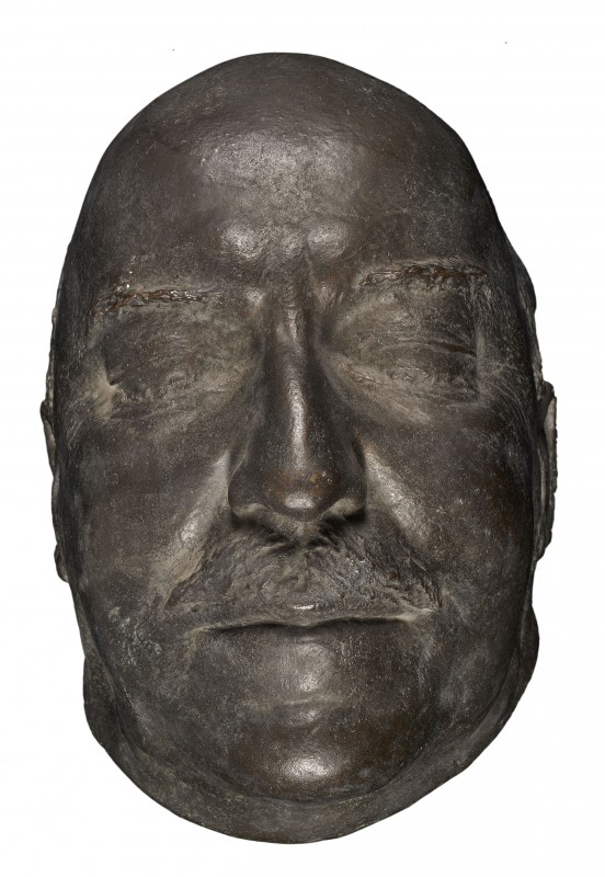 Death mask of Gabriel Narutowicz