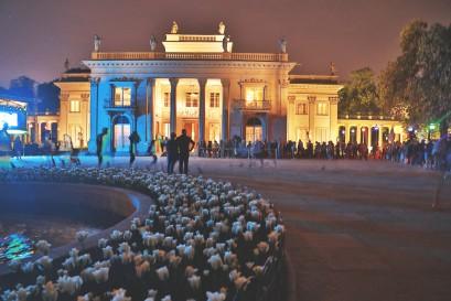 Noc Muzeów W Warszawie łazienki Królewskie