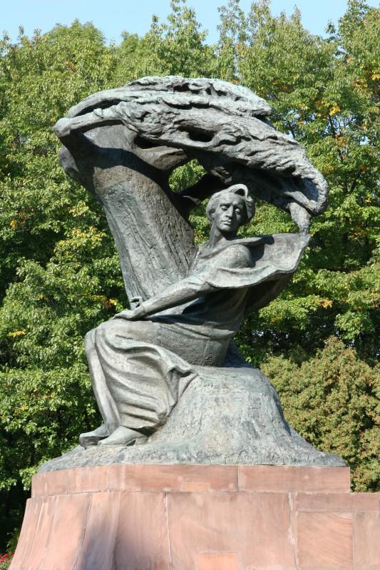 pomnik fryderyka chopina �azienki kr243lewskie w warszawie