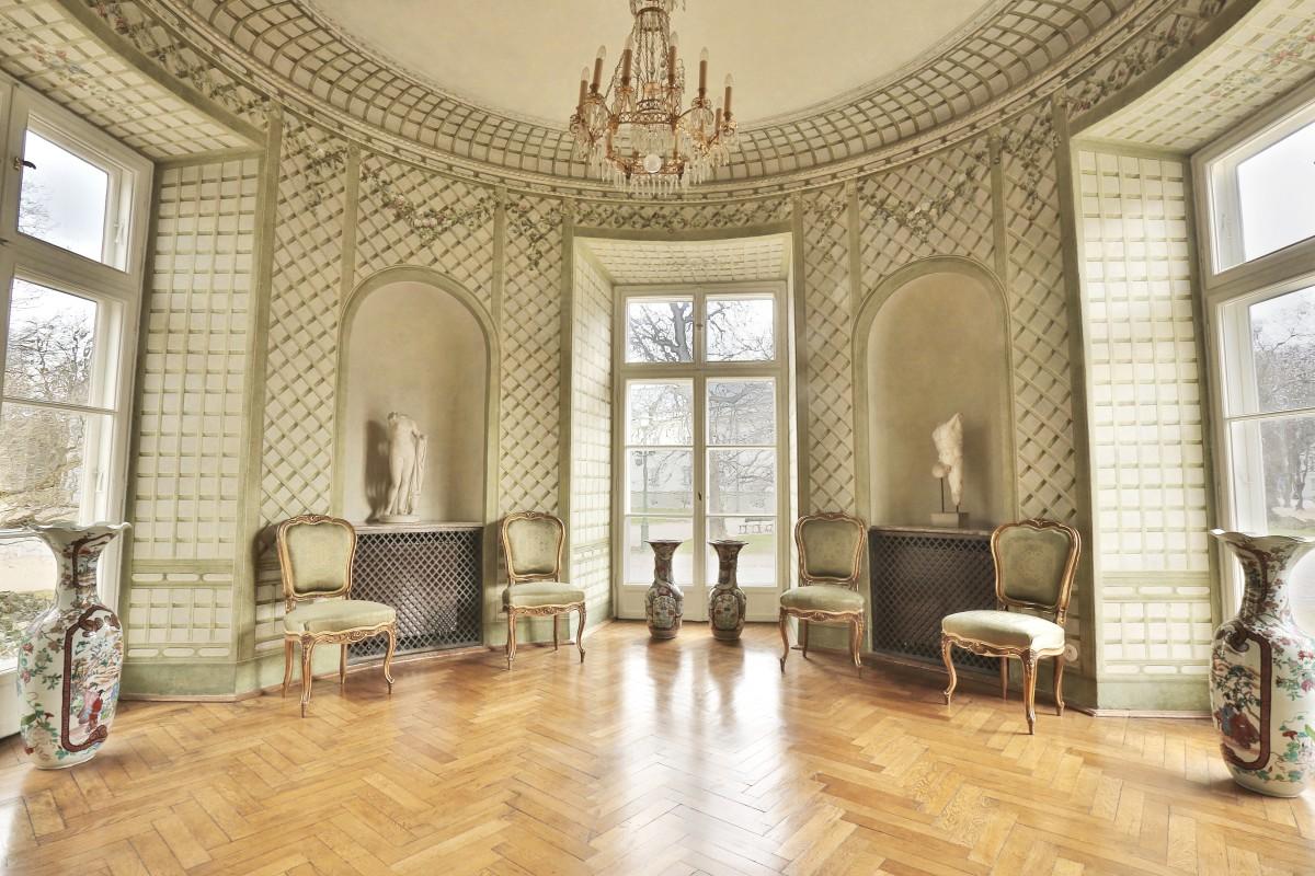 Pałac Myślewicki łazienki Królewskie