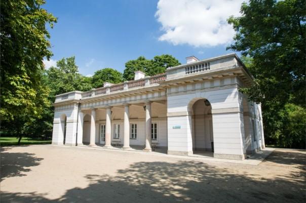 Stara Kordegarda łazienki Królewskie