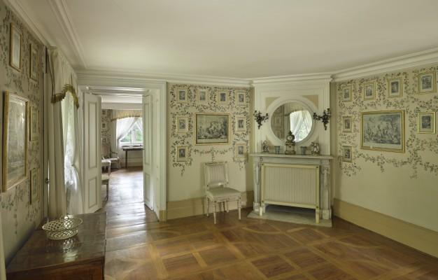 Biały Domek łazienki Królewskie