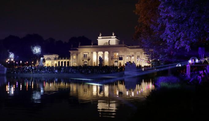 Noc Muzeów 2015 W łazienkach Królewskich Iluminacje I