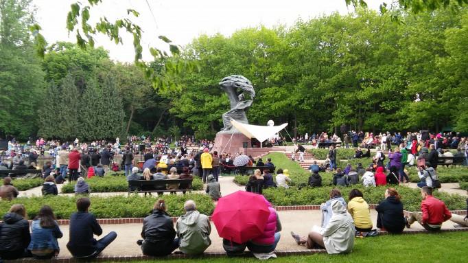 Inauguracja Koncertów Chopinowskich Min Wielki Polonez Es
