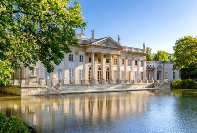 Wielki Remont W łazienkach Wypiękniał Pałac Na Wyspie I
