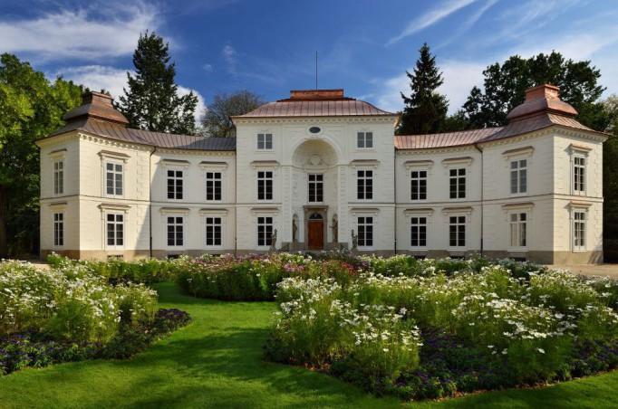 Pałac Myślewicki W Nowym Blasku Zobacz Historyczne