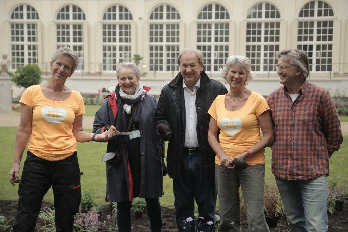 The Dutch Garden is being created in the Royal Łazienki