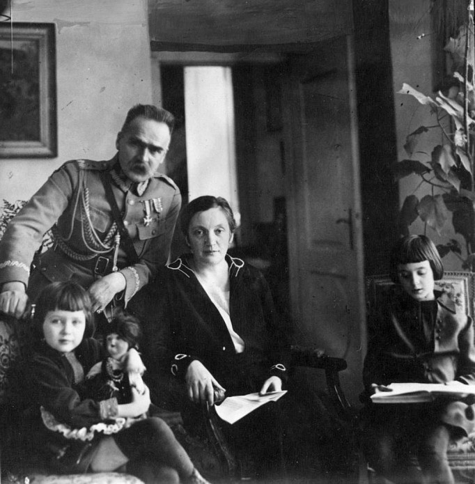 Ciekawostki O Piłsudskim łazienki Królewskie