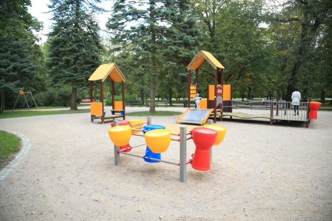 Integracyjny Plac Zabaw łazienki Królewskie