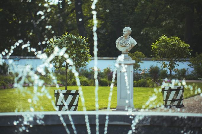 Architektura Ogrodowa łazienki Królewskie