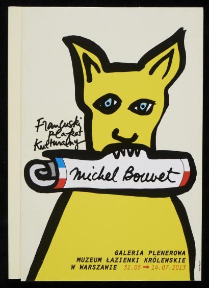Francuski Plakat Kulturalny Michel Bouvet Publikacja
